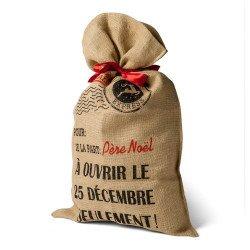 Grand sac à cadeaux de Noël -1 unité