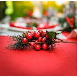 Petite branche de Noël traditionnelle