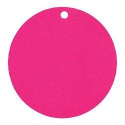 Marque-place ronds (x10) - Fuchsia