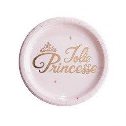 Assiettes Jolie Princesse (x8)