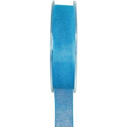 Ruban organdi - Turquoise