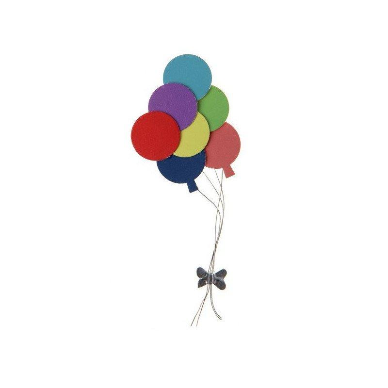 2 Autocollants ballons