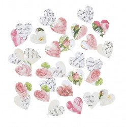 200 confettis coeur