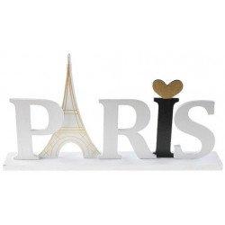 Lettres Paris sur socle