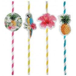 """8 Pailles """"Tropical"""" paradise"""