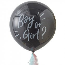 Kit Ballon Gender Reveal - Fille ou Garçon