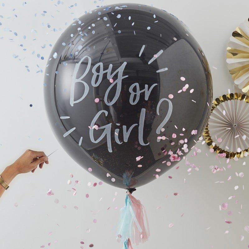 Kit Ballon confettis - Fille ou Garçon