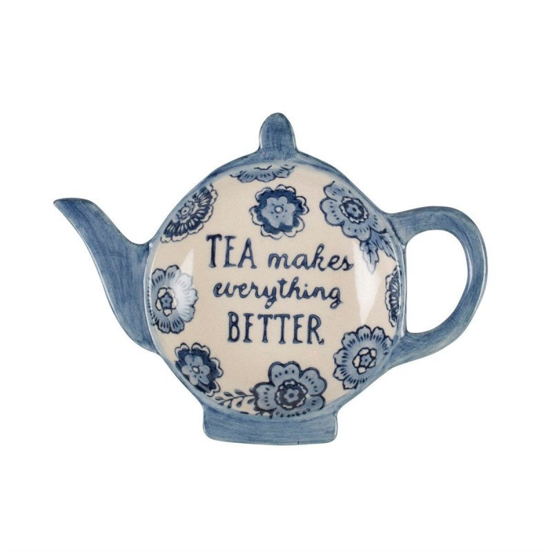Repose sachet de thé en coupelle