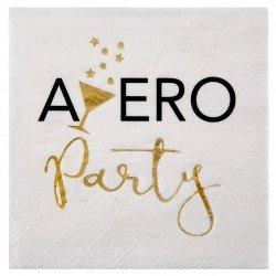"""Serviettes cocktail """"Apéro Party"""" (x20)"""
