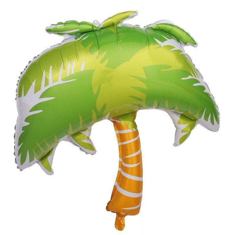 Ballon mylar cocotier