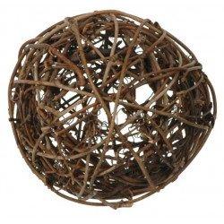 Boules en rotin (x10) - Marron