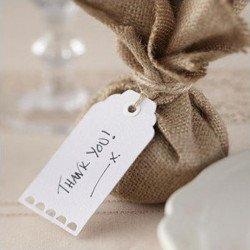 Etiquettes authentiques blanches -10 unites