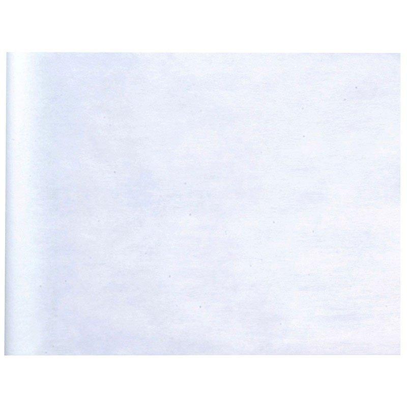 Chemin de table blanc 10 mètres