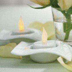 6 bougies leds