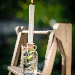 """Vase """"bouteille à la mer"""" en verre"""