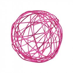 Boules métal (x12) - Fuchsia