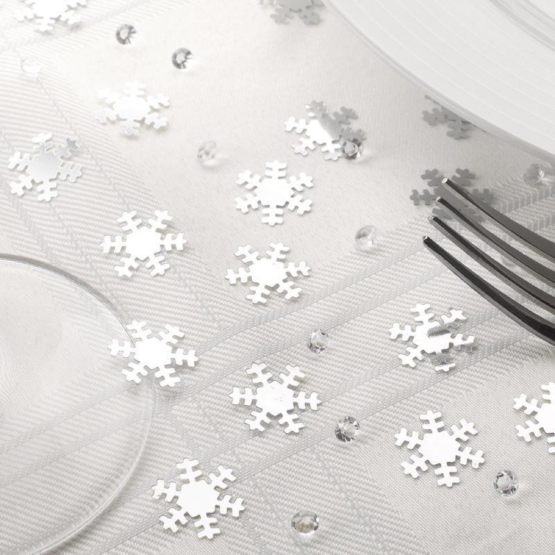 Duo confettis flocons et diamants - Boîte de 28g