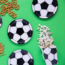 6 Assiettes Ballon de foot