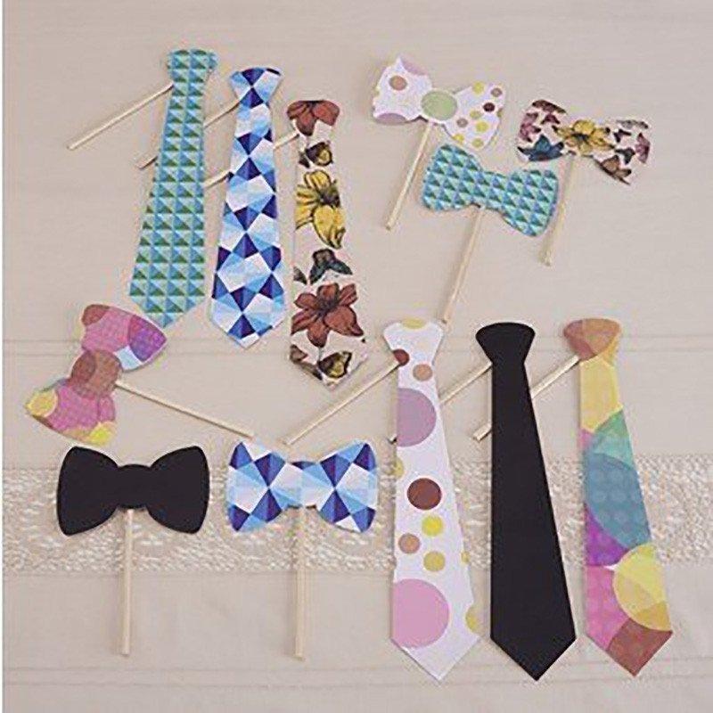 Kit photobooth cravates et noeud paps