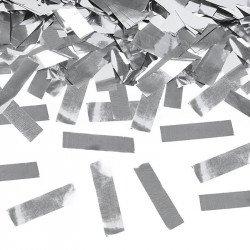 Grand Canon à confettis métalliques - Argent