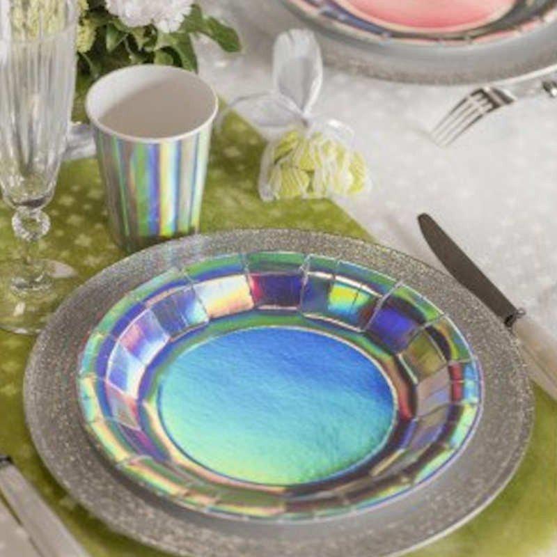 Assiettes holographiques