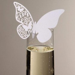 marque place papillon - 10 unités