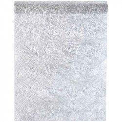 Chemin de table fanon métallisé - 5M