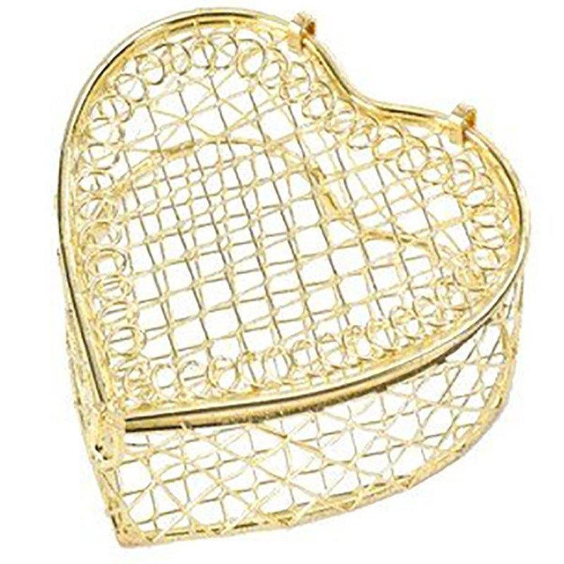 Bonbonnière cœur or (x2)