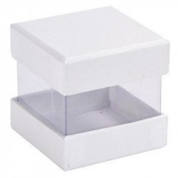 Boîtes cube (x6) - Blanc