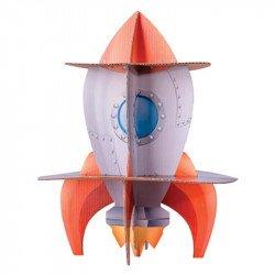 Présentoir gâteaux fusée astronaute