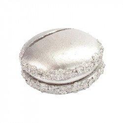 Marque-places macaron (x2) - Argent