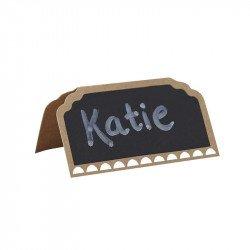 Marque-Places Kraft Ardoise rétro (x10)