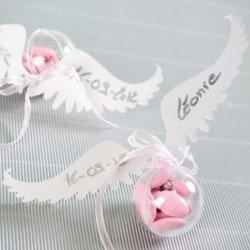 6 marques places ailes d'ange
