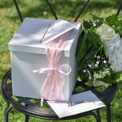 Urne Tirelire  Cadeau Blanche