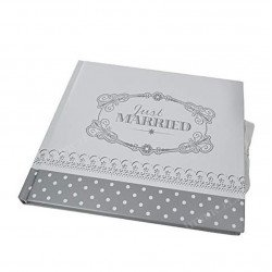 Livre d'or vintage Just Married