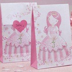 12 Sacs à cadeaux Princesse au Carrosse