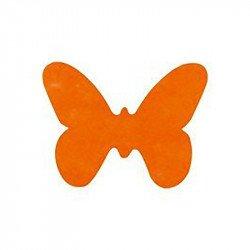 Confettis papillons (x12) - Orange