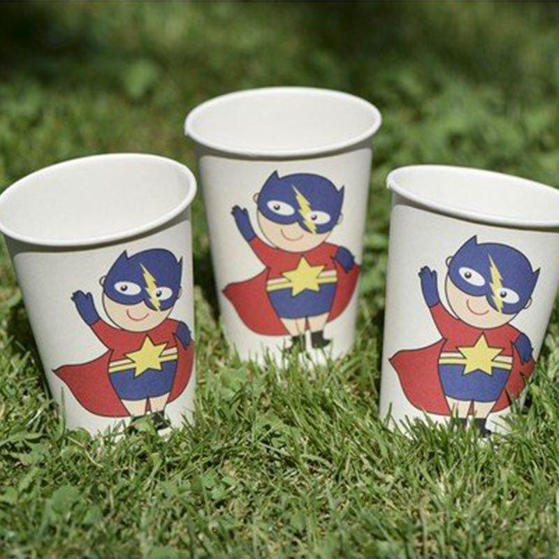 Gobelet Super héros boy - 10 unités