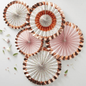 Lampions, rosaces & honeycombs