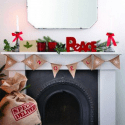 Guirlandes et banderoles de Noël